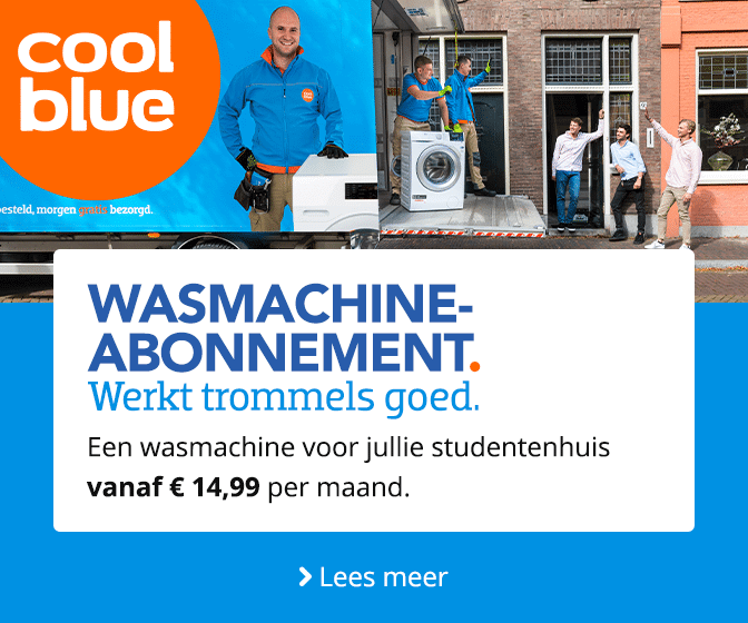 Coolblue- Wasmachineabonnement